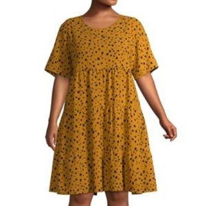 Tiered Dress 3X